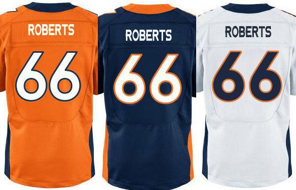 2015 American Football DEN #66 Kyle Roberts Elite Stitched Jerseys(China (Mainland))