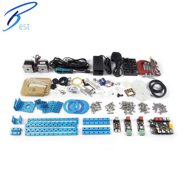 Makeblock mDrawBot Educational Kids Toys scale models DIY Robot Car Model Kit Fashion (EU Plug)(China (Mainland))