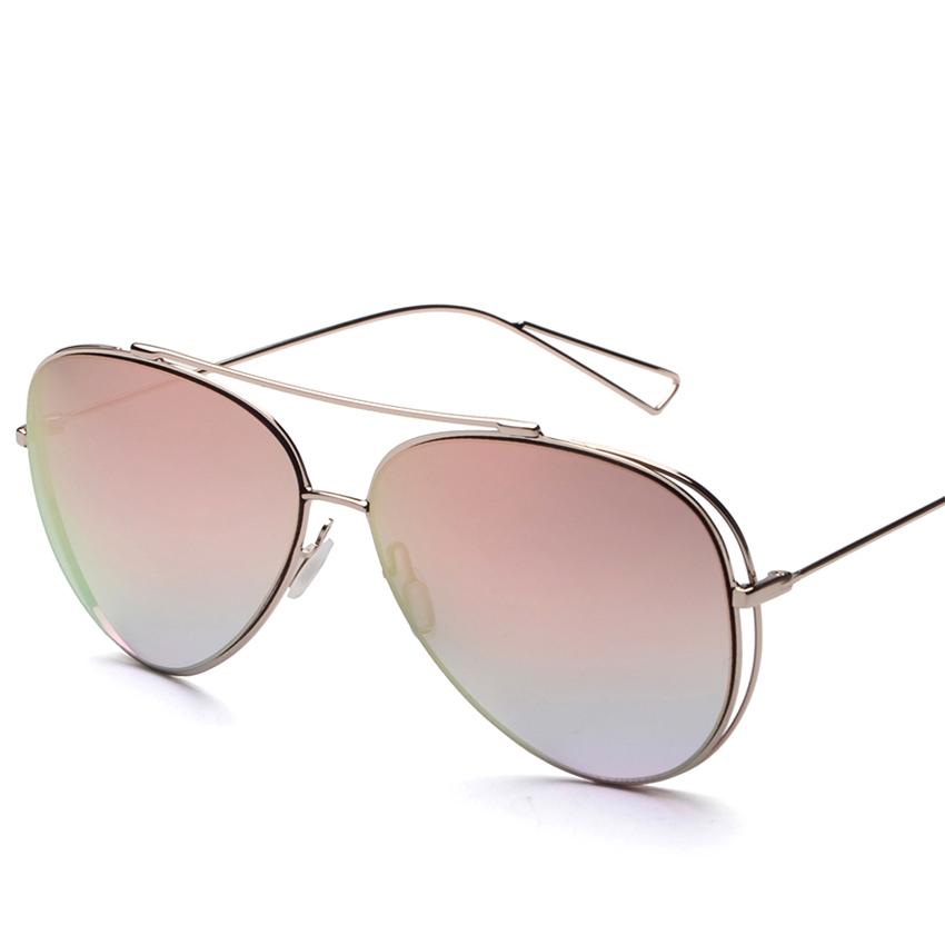 Wide Framed Fashion Glasses : New Fashion Women Sunglasses Large Frame Glasses Brand ...
