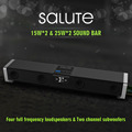 Salute 24 inch 2 2 Channel Sound Bar Bluetooth Subwoofer Audio Player Stereo Speakers With Remote