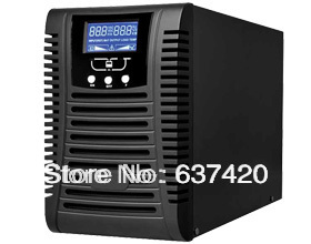 High Frequency LCD Display 3000va 2400w Online UPS with inbuilt battery 3KVA Online UPS for Home Electrics(China (Mainland))