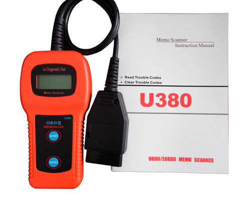 U380 obdii OBD2 Diagnostic Tool Engine Scanner Trouble Code Reader(China (Mainland))