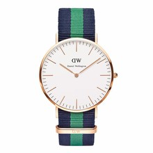 Brand Luxury Style Daniel Wellington Watches rose DW Watch Women Men Nylon Strap Military Quartz Wristwatch