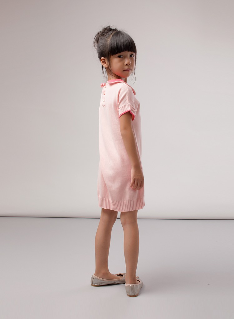 pink children dress