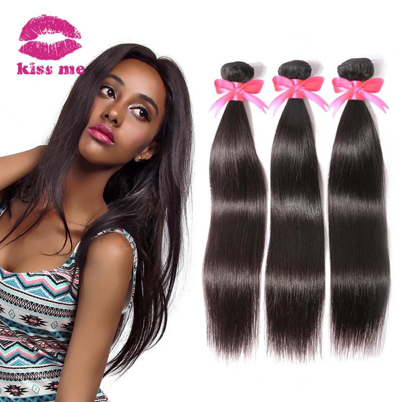 5A Brazilian Virgin Hair Straight 4 Bundles KBL Hair Products Unprocessed Virgin Brazilian Straight Hair 100 Human Hair Weave(China (Mainland))