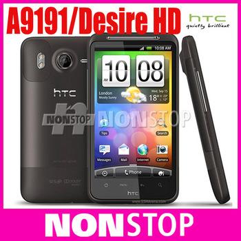 "G10 Desire HD Original HTC Desire HD A9191 4.3""TouchScreen 8MP WIFI GPS Android Mobile Phone"