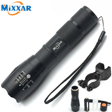 Buy RUZK5 Bike Bicycle Light Flashlight Zoomable 5 Mode CREE XM-L T6 LED Flashlight LED Torch 4000LM Tactical Camping Lantern for $6.53 in AliExpress store