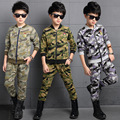 Boys autumn spring Clothing Set Boys T Shirt And Long Suit Children Kids Long Sleeve Clothing