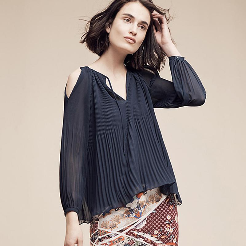 Модные блузки из шифона 2017 доставка