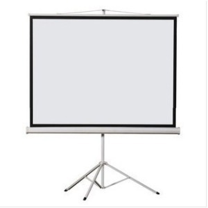 Supply Best Quality Matte White 70inch Portable Tripod Portable Projection Projector Screen 4:3 format<br><br>Aliexpress