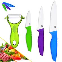 Hot sales ceramic knives peeler paring utility slicing high-grade kitchen knives sets ceramic cooking knives kitchen accessories(China (Mainland))