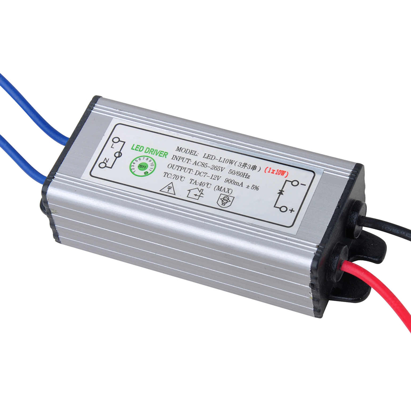 1piece 10W IP67 Waterproof Integrated LED Driver Power Supply Constant Current AC100-260V 900mA for 10W LED Bulb(China (Mainland))