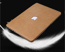 Fast shipping high quality pu leather laptop  sleeves covers cases for Macbook air 11 13 pro 13 15 retina 13 15(Hong Kong)