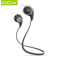Original new QCY QY8 Wireless Bluetooth 4.1 Stereo Earphone Fashion Sport Running Headphone Studio Music Headset with Microphone