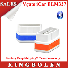 2015 New Arrival Original Vgate iCar2 Bluetooth ELM327 OBD2 Scanner Diagnostic Tool 2 Years Warranty Free Shipping(China (Mainland))