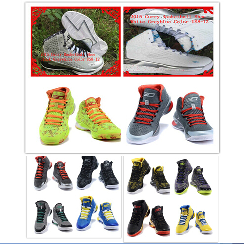 2015 MVP Stephen Newest Mens Brand Basketball Shoes Sneakers Of Curry 1st Lace-Up Free Shipping Colors Available(China (Mainland))