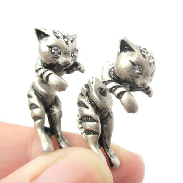 Adorable Kitty Stud Earrings