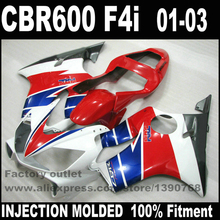 INJECTION MOLDED bodywork HONDA CBR 600 F4i fairings 2001 2002 2003 CBR600 01 02 03 red blue black fairing kit NK19 - Parts4Bike Motorcycle Fairings store