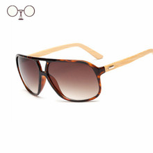 Steampunk Sunglassses Bamboo Goggles For Men Wooden Sunglasses Women Original Wood Sun Glasses oculos masculino 2016 KP1524