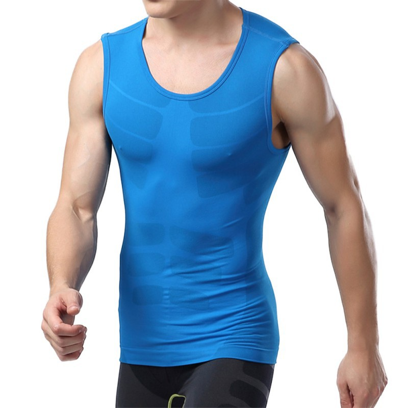 Free Shipping Mens Compression Sleeveless Sports Tight Shirts Fitness GYM Base Layer Tops M-XLОдежда и ак�е��уары<br><br><br>Aliexpress