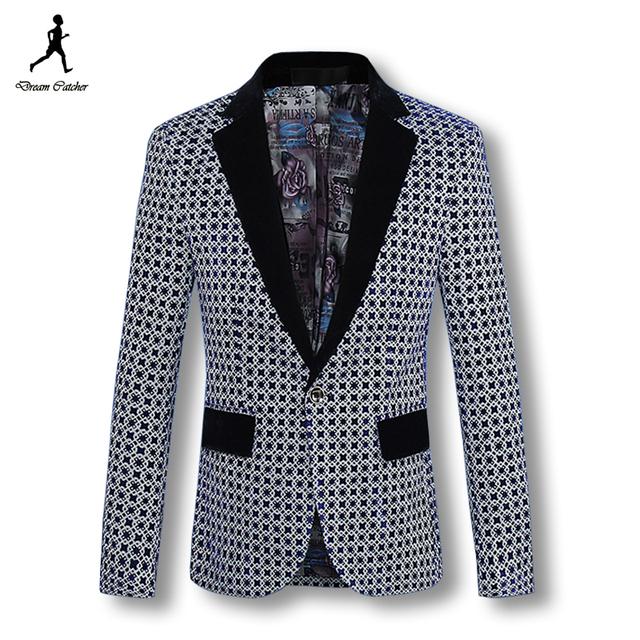 2016 мужчин пиджаки куртки кардиганы мужские свободного покроя мода тонкой длинными ...