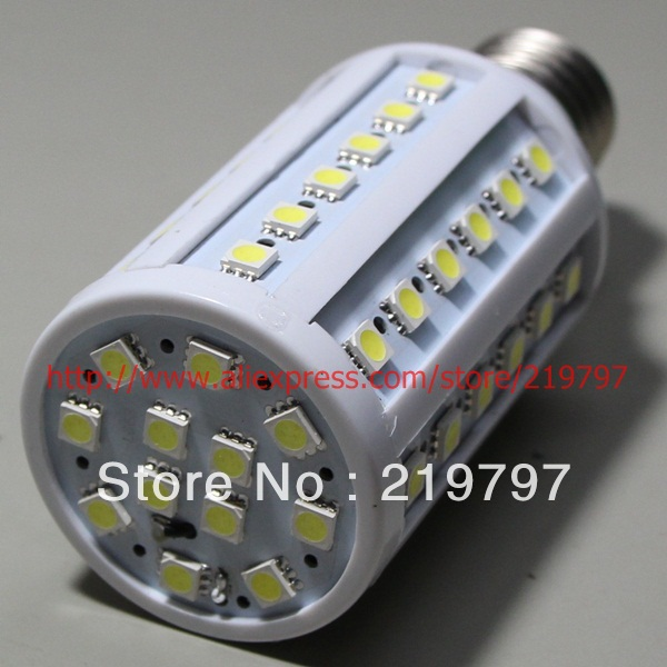 5050 60led E27 Corn bulb 12W YM08 AC220V for house decoration Corridor lamp channel lamp +4pcs + Free shipping(China (Mainland))