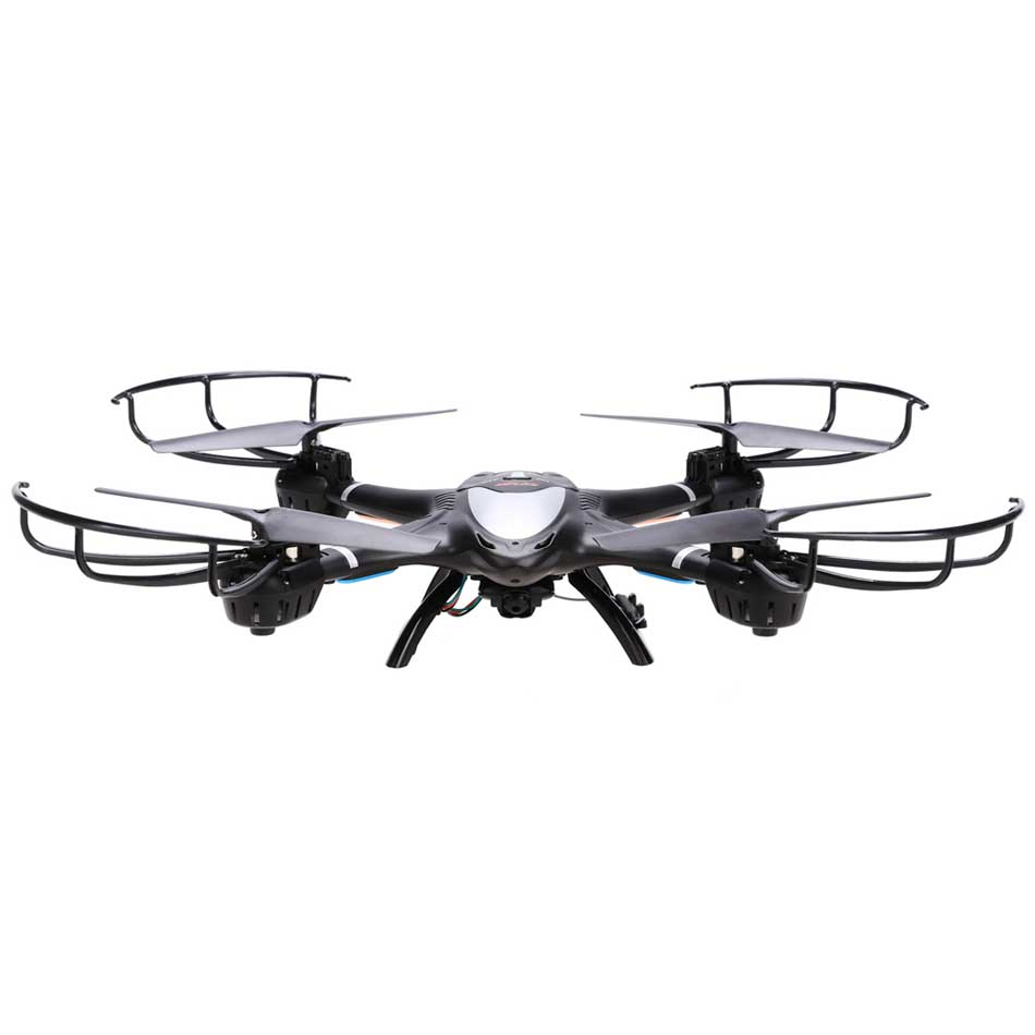 Фотография MJX X401H Quadcopter RC Drone X-Series 2.4Ghz 6-axis Gyro Wireless HD Video Real-time WiFi FPV Camera Black Free Shipping