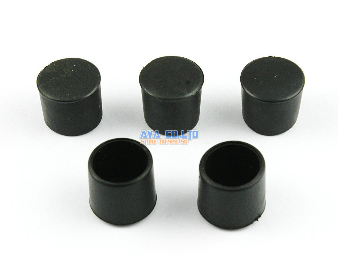 120 Pieces 12mm Round Rubber Furniture Chair Table Leg Cover Floor Protector<br><br>Aliexpress