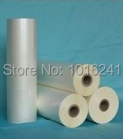 New Glossy Hot roll laminating film 3 rolls 320mmx200M/roll(China (Mainland))