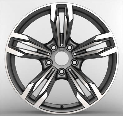 OEM manufacturers casting aluminum alloy wheel rim 5*120(China (Mainland))
