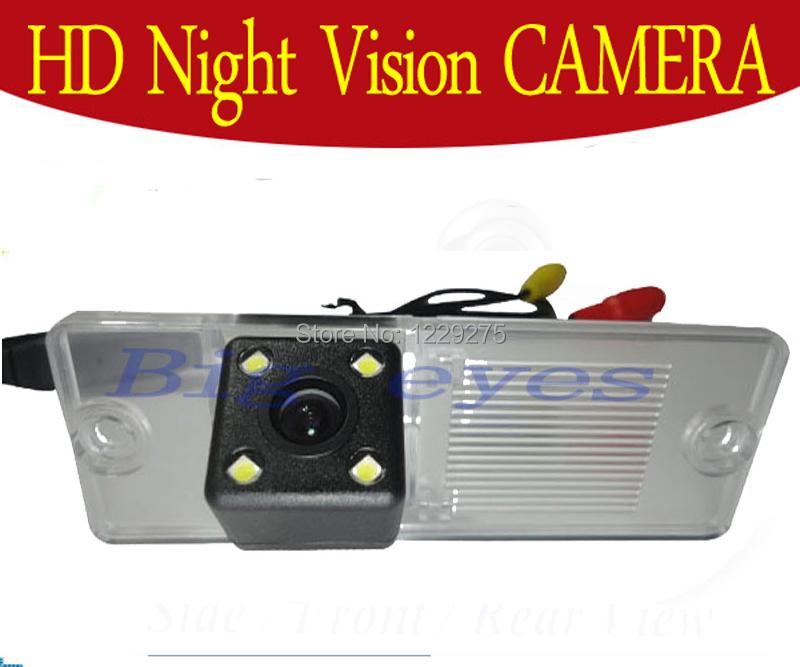 CCD Pajero Camera Car Rear View Camera With 4 LED HD CCD Camera For Mitsubishi Pajero 2009-2012(China (Mainland))