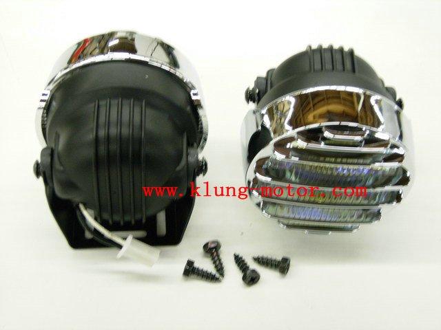 2 pcs 12v 55w motorcycle fog light head light ,fog light for offroad buggy go kart ,quad(China (Mainland))