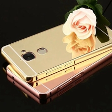 Buy Brand Tuke Letv Max2 Case LeEco Letv Max 2 X821 Luxury Gold Plating Aluminum Metal Frame+Mirror Acrylic Back Case for $3.28 in AliExpress store