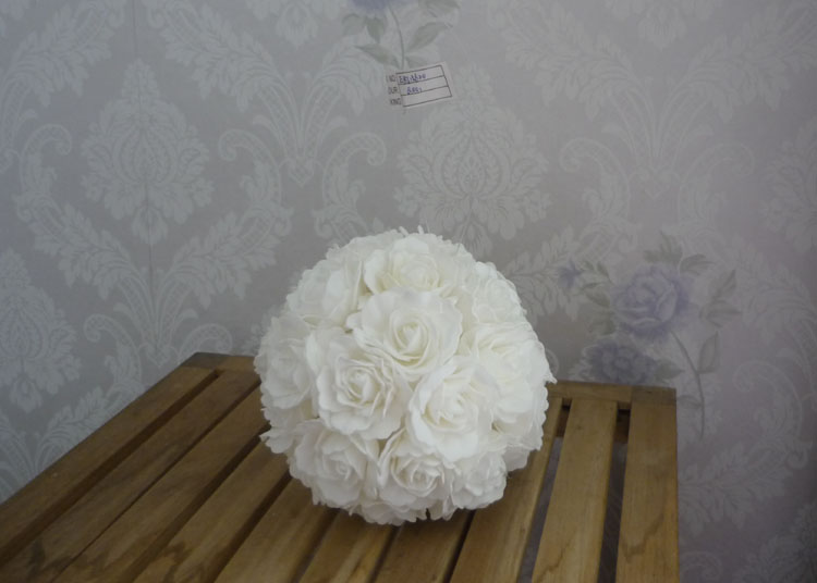 Cm artifiical kissing foam rose flower ball wedding