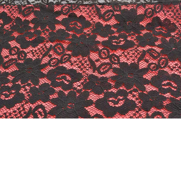 50 yards High-end clothing Warp knitted knitted lace fabric / Women Accessories lace fabric/ wedding dress diy cloth lace fabric(China (Mainland))