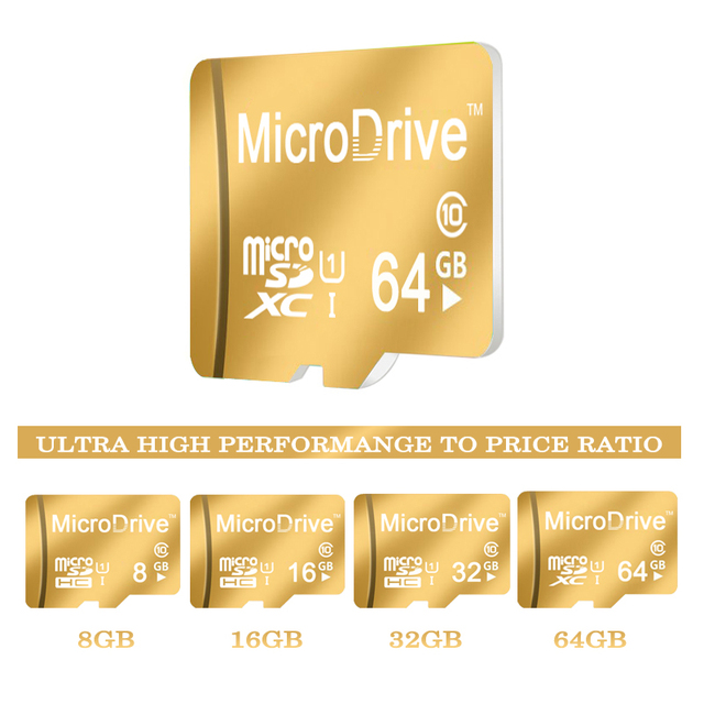 2016 New arrival 16GB 32GB 8GB memory card /Micro SD Card 64GB Class 10 Flash Cards SDHC SDXC Microsd TF Card