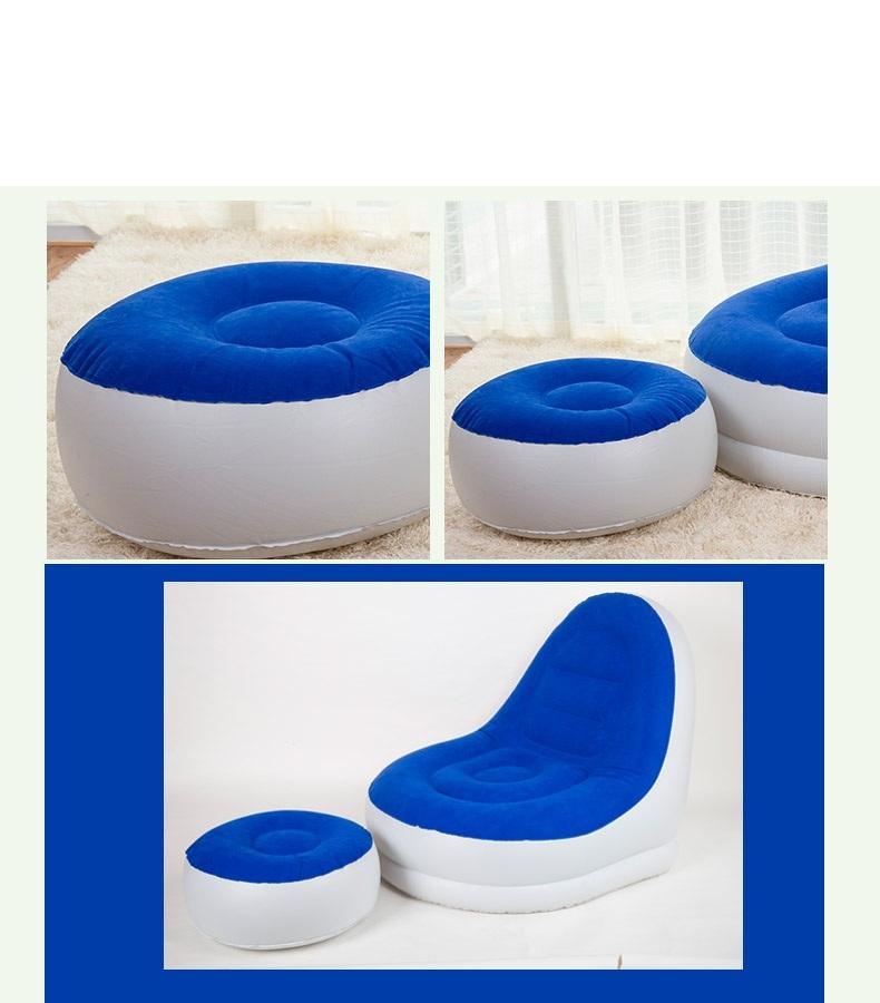 lazy single folding tatami room children creative inflatable small sofa FREE SHIPPING