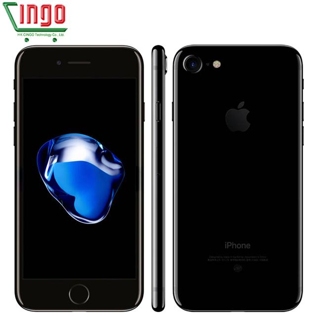 """Оригинальный разблокирована Apple iPhone 7 2 ГБ ОПЕРАТИВНОЙ ПАМЯТИ 32/128/256 ГБ ROM 4.7 """"IOS 10 Сотовый Телефон 12.0MP Камера Quad Core 4 К Видео LTE 1960 мАч"""