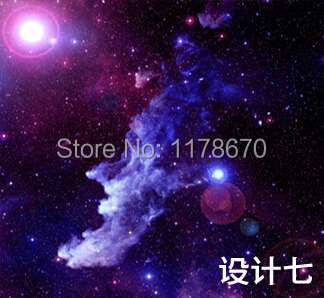 wholesale 3d personalized custom galaxy star restaurant ktv room ceiling bedroom theme. Black Bedroom Furniture Sets. Home Design Ideas