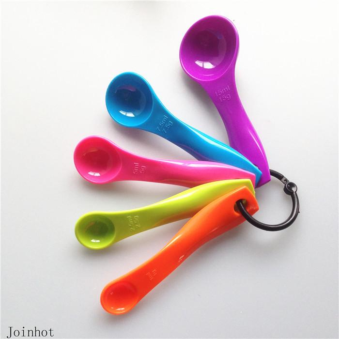 2015 Direct Selling Kitchen Scales Medidas !!Kitchen Tools 5pcs/set Measuring Spoons Colorful Mini Set - China kitchenware store