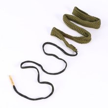 Buy Barrel Cleaning Rope Bore Snake 38/357/380 Cal&9mm Calibre Rifle Barrel Cleaner Rope Boresnake Hunting Gun Accessories for $1.66 in AliExpress store