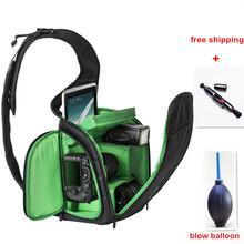 New Fashion Video DSLR Sling Bag Camera Backpack Bag case Photography Camera Video Bag Photo DSLR Sling Camera Bag(China (Mainland))