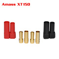 Black Red Tarot Amass XT150 120A Large Current Plug 6 0mm Banana Connector Shealth for RC