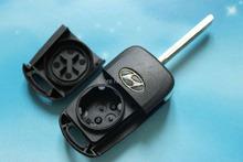 10pcs/lot 3 Buttons Hyundai I30 IX35 Flip Folding Remote Key Shell Case Replacement