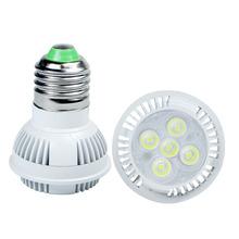 5 W HA CONDOTTO Il Riflettore e27 illuminazione interna AC110V 220 V HA CONDOTTO LA lampada della lampadina di alto potere ha condotto il trasporto libero(China (Mainland))
