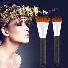 Professional Cosmetic Pro 163 Flat Contour Brush Big Face Blend Makeup Brush Y1