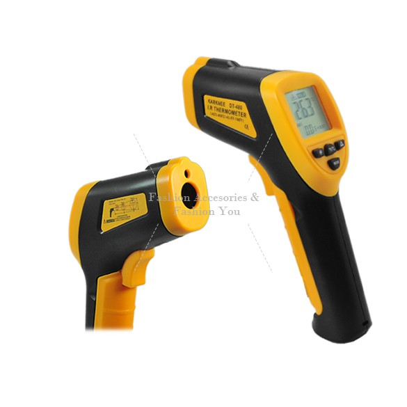 2014 New Non-Contact Laser Infrared Thermometer Digital IR Thermometer LCD with Back Light 480 Centidegree(China (Mainland))