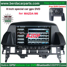 Upgrated Multimedia GPS Navigation car Stereo For Mazda 6 2002-2008 with 8″touch screen+Keep original CD all functions