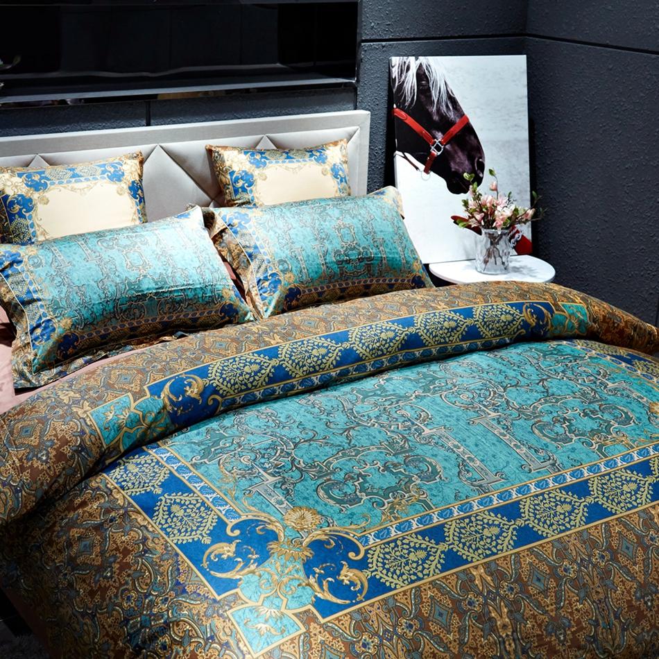 De luxe housse de couette promotion achetez des de luxe for Housse de couette luxe