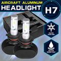 Oslamp CREE Chips 6500K H7 Headlight Kits for Car Automobile H7 Led Headlight 50W Pair Fog